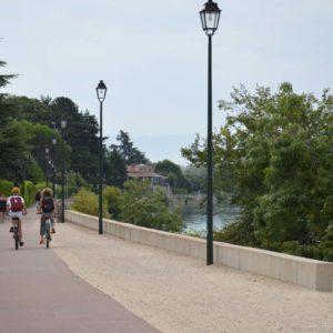 Balade à vélo sur la Viarhona